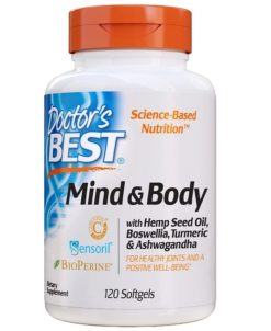 Mind and Body - 120 softgels