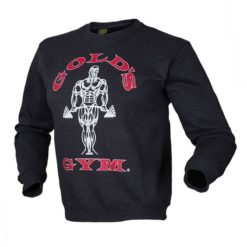 Gold´s Gym Crewneck Sweater - charcoal/dunkelgrau