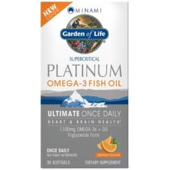 Garden of Life Minami Platinum Omega-3 Fish Oil - 30 softgels