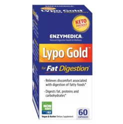 ENZYMEDICA Lypo Gold™ (Promotes the Digestive System) 60 capsules
